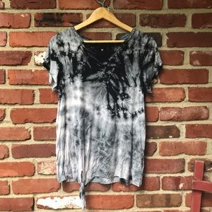 American Eagle Soft and Sexy medium tie-dye shirt